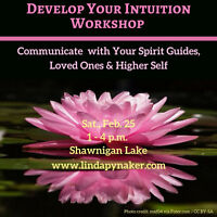 Develop Your Intuition Workshop - Feb. 25