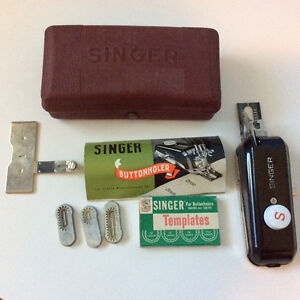 Singer Buttonholer with Instructions and Templates Kingston Kingston Area image 2