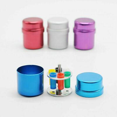 Dental Endodontic Paper Gutta Percha Aluminum Organizer Container 4 Color Select