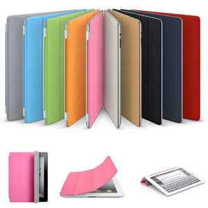 One-sided Smart Magnetic Stand Case Cover for Apple iPad 2 3 4 A