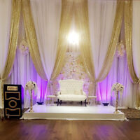 HIGH END WEDDING BACKDROPS AT AFFORDABLE PRICES $250