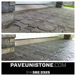 HIGH PRESSURE CLEANING OF DRIVEWAYS & UNISTONE & CONCRETE West Island Greater Montréal image 4