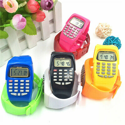 Wrist Watches Children's Digital Calculator Watch for Kids Students Gift