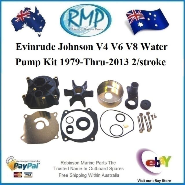 A Brand New Water Pump Kit Evinrude Johnson V4/V6/V8 1979-thru-2015 # R 5001595