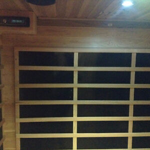 Classic three person sauna far infrared on sale $2799, was $3999 Strathcona County Edmonton Area image 3