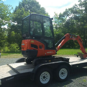 RENTAL - 2 ton Mini Excavator