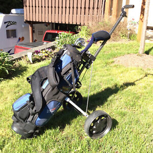 Junior set with bag and cart