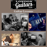 Guitar Lessons with the Pro's -London Guitars