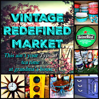 Vintage Redefined Market - Collectibles, Antiques, Rustic, Vinta