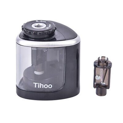 Electric Pencil Sharpener Automatic Touch Switch School Office Classroom Kidsthh