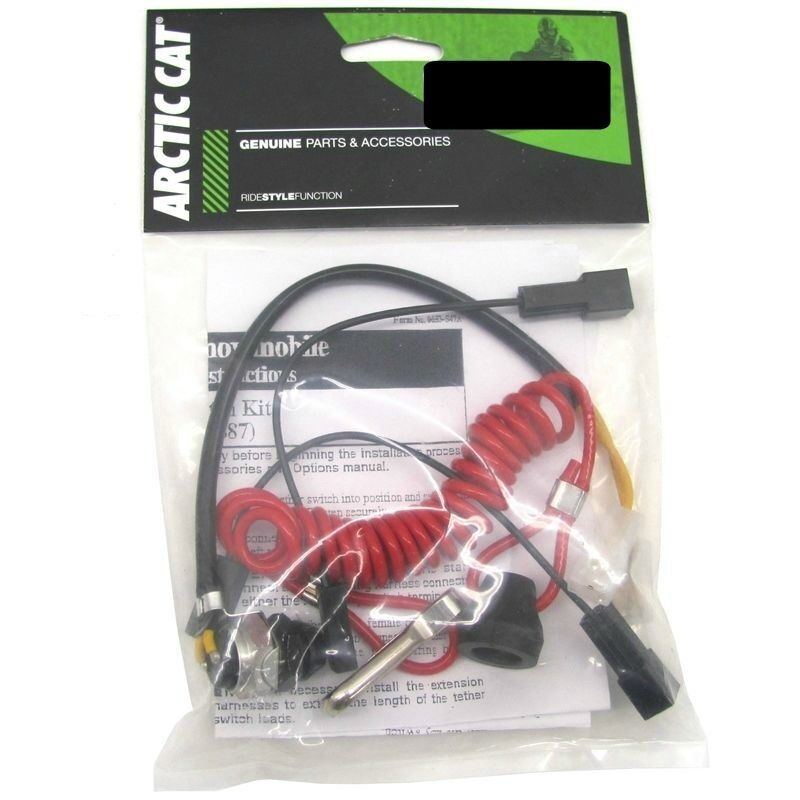 OEM Arctic Cat Snowmobile Safety Tether Cord Kit 1989-1998 Z ZR ZRT 0638-887