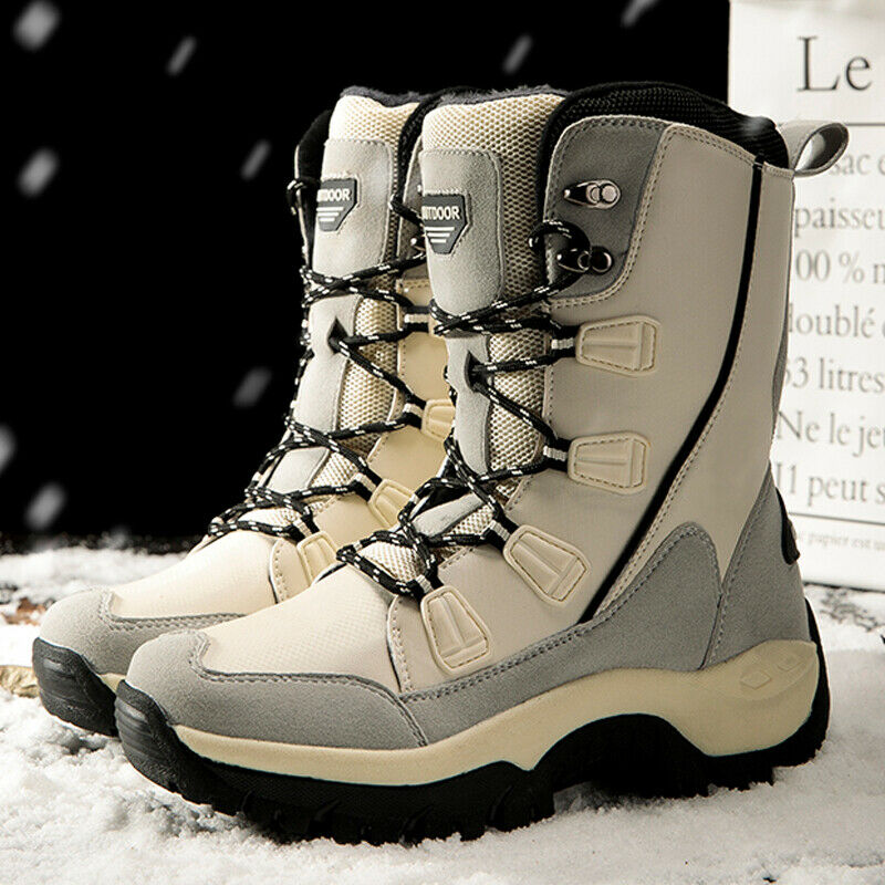 Damen Winter stiefel Boots Schneestiefel Stiefeletten Warm Snow gefüttert 36-42