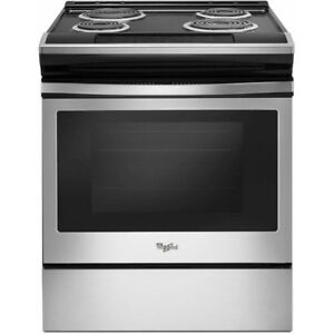 Whirlpool Slide-In Range YWEC310S0FS FOR SALE - BEAUTIFUL!!!