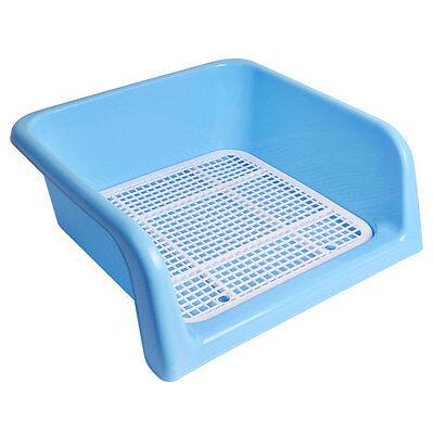 New Indoor Dog Puppy Pet Potty Toilet Pee Trainning Pad Tray Blue 41cm x 41cm