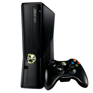 Xbox 360 slim + games
