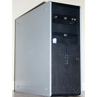 "HP dc7900 Complete Desktop PC Core2 Duo 4GB RAM 80GB HDD 19"" LCD"
