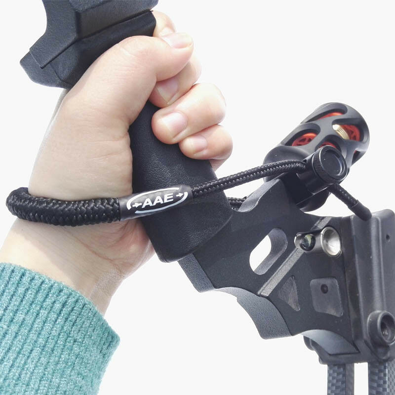 Archery Wrist Sling Strap Braided Nylon Cord Rope Compound Bow Adjustable Strap