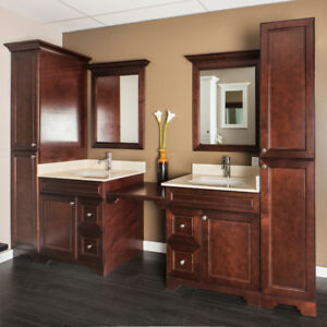Free design!! fancy bathroom vanities on SALE now!!