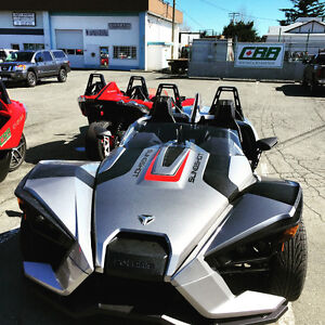 2016 TURBO SILVER POLARIS SLINGSHOT