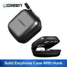 UGREEN Headphone Case Bag Earbud Hard Box Storage fr Memory Card Cable Organizer