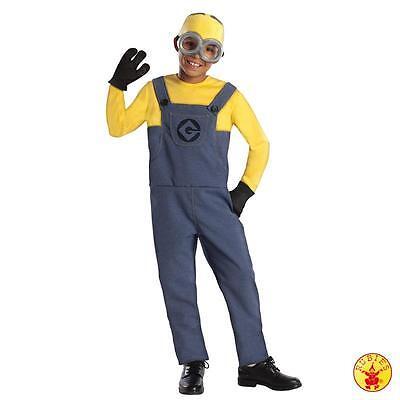 Rubies 3886973 - Minion Dave - Ich einfach unverbesserlich Gr. S - Kinder (Kind Minion Dave Kostüm)