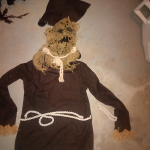 Creepy Scare crow halloween costume