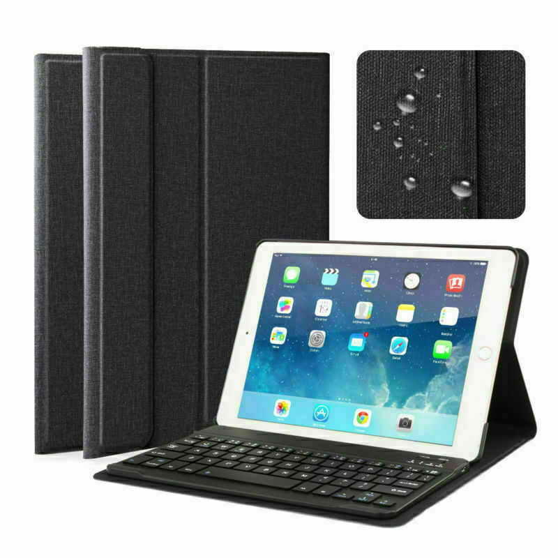 for iPad 6th 2018 9.7 inch Leather Slim Case Cover Stand wit