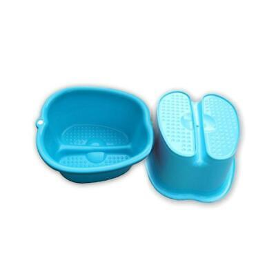 Foot Tub Large Thick Sturdy Plastic Basin Pedicure Detox Spa Bath Massage SoakUS for sale  China