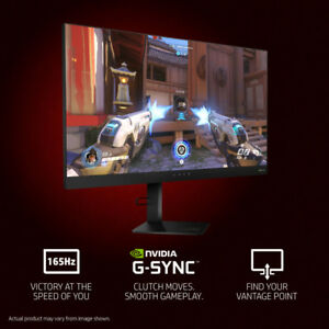 "BRAND NEW HP OMEN 27"" LED QHD GSync Monitor 1ms 165Hz on sale!"
