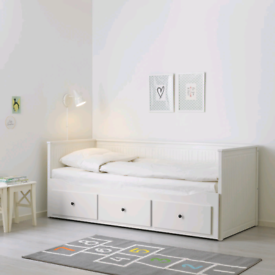 Ikea Hemnes Daybed with 2 mattresses