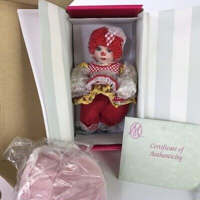 Marie Osmond Cherry Muffin Rag A Muffin Collection Doll Seated C26747 Porcelain
