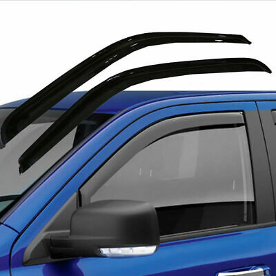 2 Door Window Visor Vent Air Deflector For Chevy Silverado 1999-07 Vehicles X8T9
