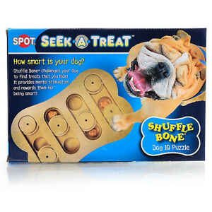 Seek a Treat Dog Puzzle