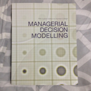 Managerial Decision Modelling