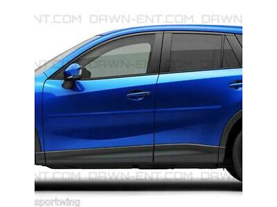 BODY SIDE Moldings PAINTED Trim Mouldings For: MAZDA CX-5 2013-2016