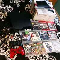 Selling Slim PS3 160GB with 2 controllers and 11 games