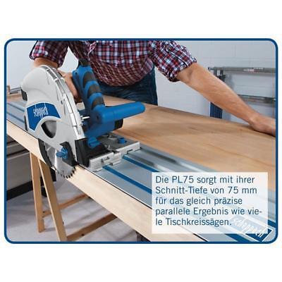 Scheppach Tauchsäge PL75 inkl. Kippschutzriegel + Zubehörpaket + Führungsschiene
