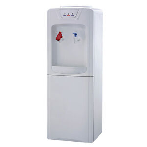 WATER COOLER ALSO WITH HOT WATER AND FRIDGE BELOW