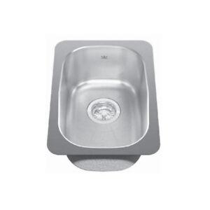 Kindred KSS3UA/7D 12 x 18 Single Bowl Undermount Sink