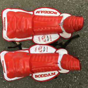 Boddam Cat 2 lacrosse goalie leg guards