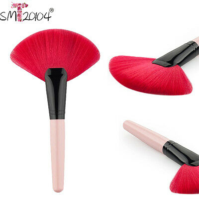 Makeup Medium Fan Brush Blush Powder Foundation Make Up Tool Cosmetics mt