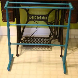 Funky Old Quilt Rack