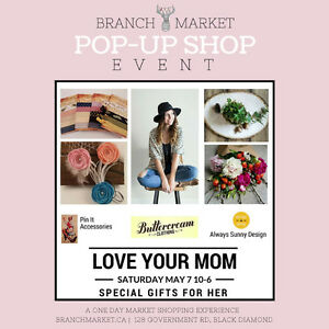 Love Your Mom Pop-up Shop Event