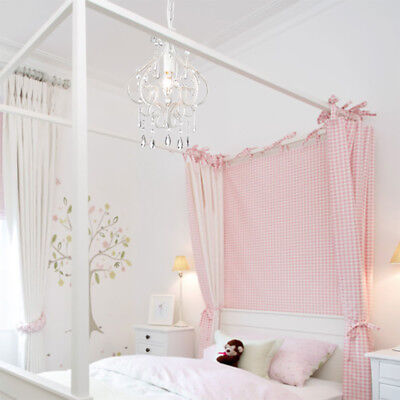 Shabby Chic Bloodless DARLING Chandelier Crystal Beaded Light New Bedroom Lighting