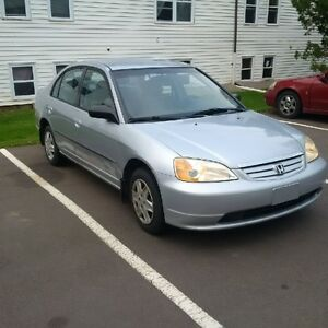 2003 Honda Civic 4 Door, New Insp, Keyless entry, A/C, CD etc