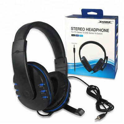 DOBE Stereo Headphone - Chat Headset for Nintendo Switch, Xbox One & Sony PS4 for sale  Shipping to India