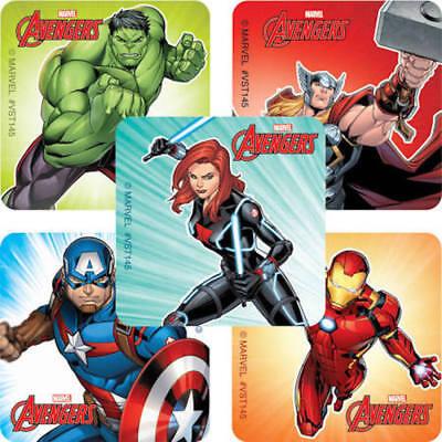 25 Avengers Marvel Stickers Party Favors Teacher Supply Ironman Hulk 1 5/8
