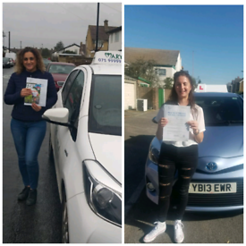 Driving lessons from £22.50, Driving test Car hire.