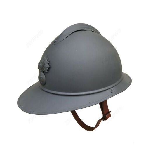 WWI French Adrian France Helmet Steel Military Soldier M1915 M15 Infantry