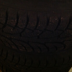 "16"" snow tires and rims very little wear"